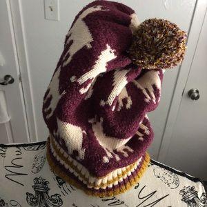 FREE PEOPLE Alpaca My Bags Beanie Hat